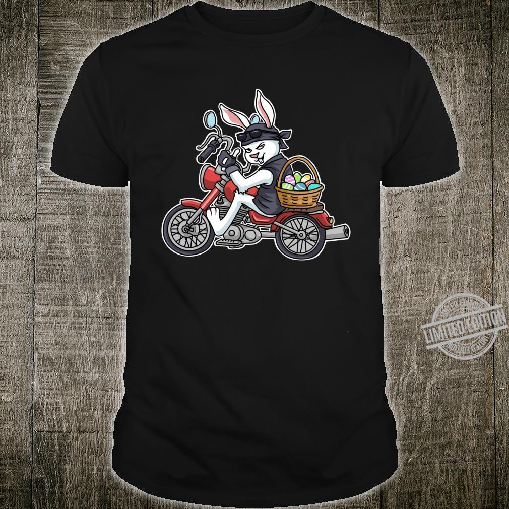 Easter Bunny Motorcycle Biker Apparel Braap Shirt