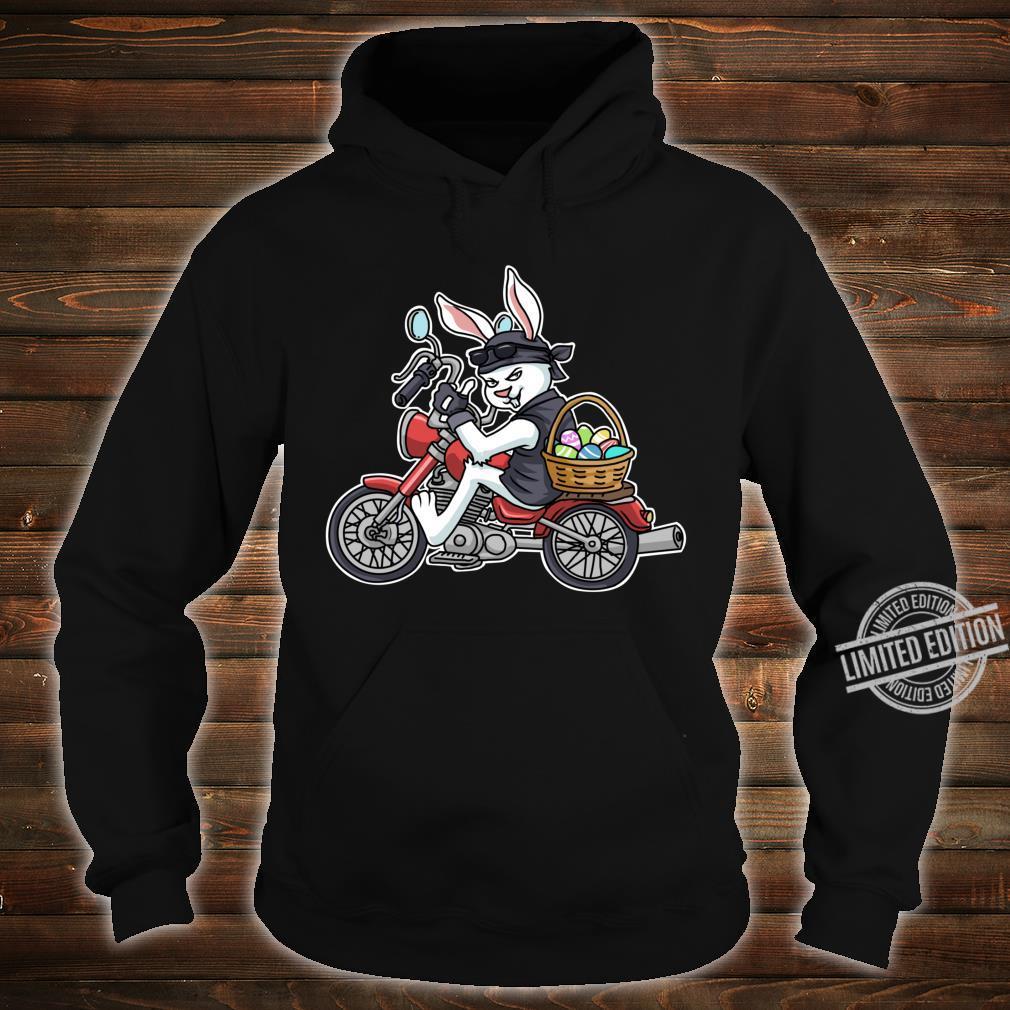 Easter Bunny Motorcycle Biker Apparel Braap Shirt hoodie