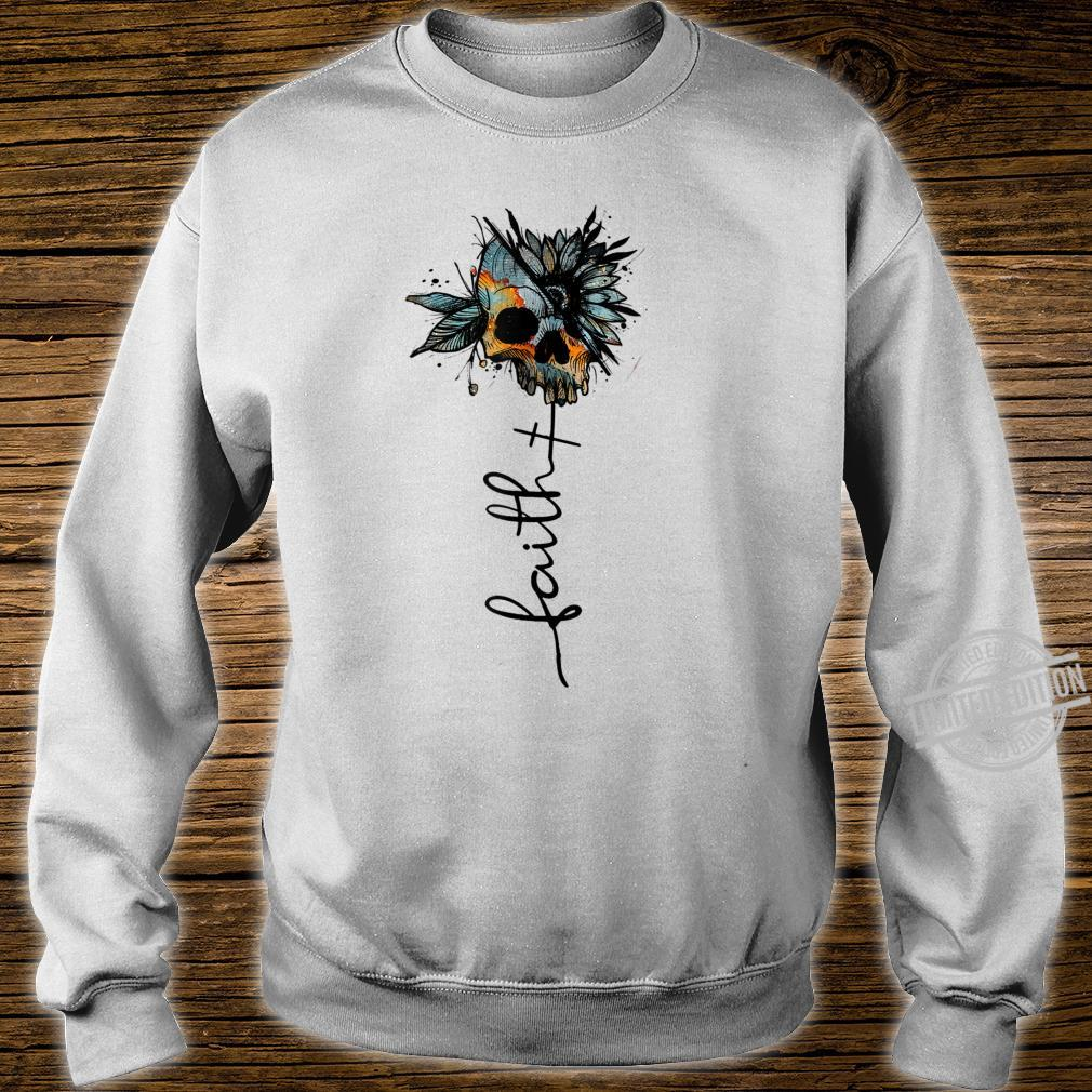 Faith Love Skull Skulls Skull Shirt sweater
