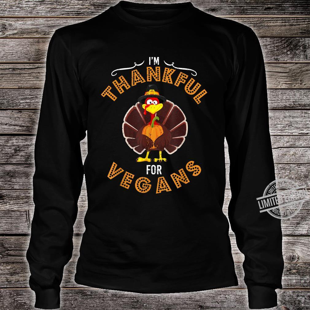 Fröhlicher Herbst Truthahn Erntedankfest Tag Shirt long sleeved