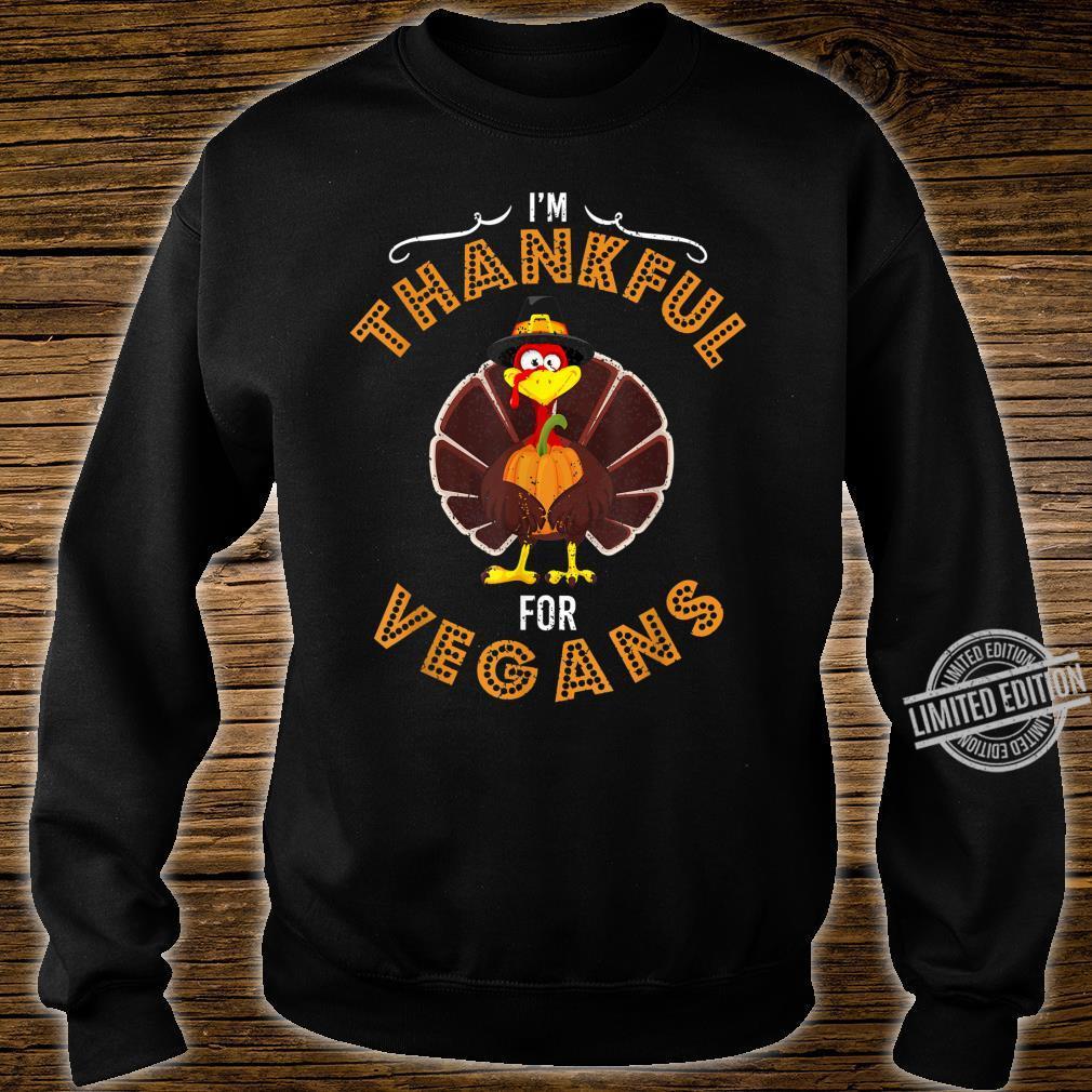 Fröhlicher Herbst Truthahn Erntedankfest Tag Shirt sweater