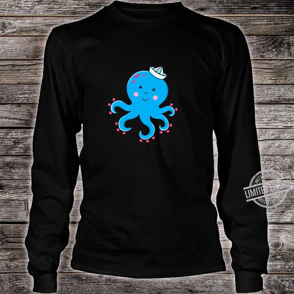 Fröhlicher Oktopus Langarmshirt Shirt long sleeved