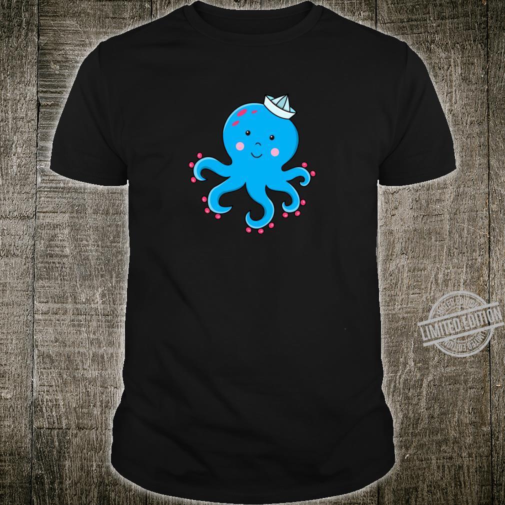 Fröhlicher Oktopus Shirt