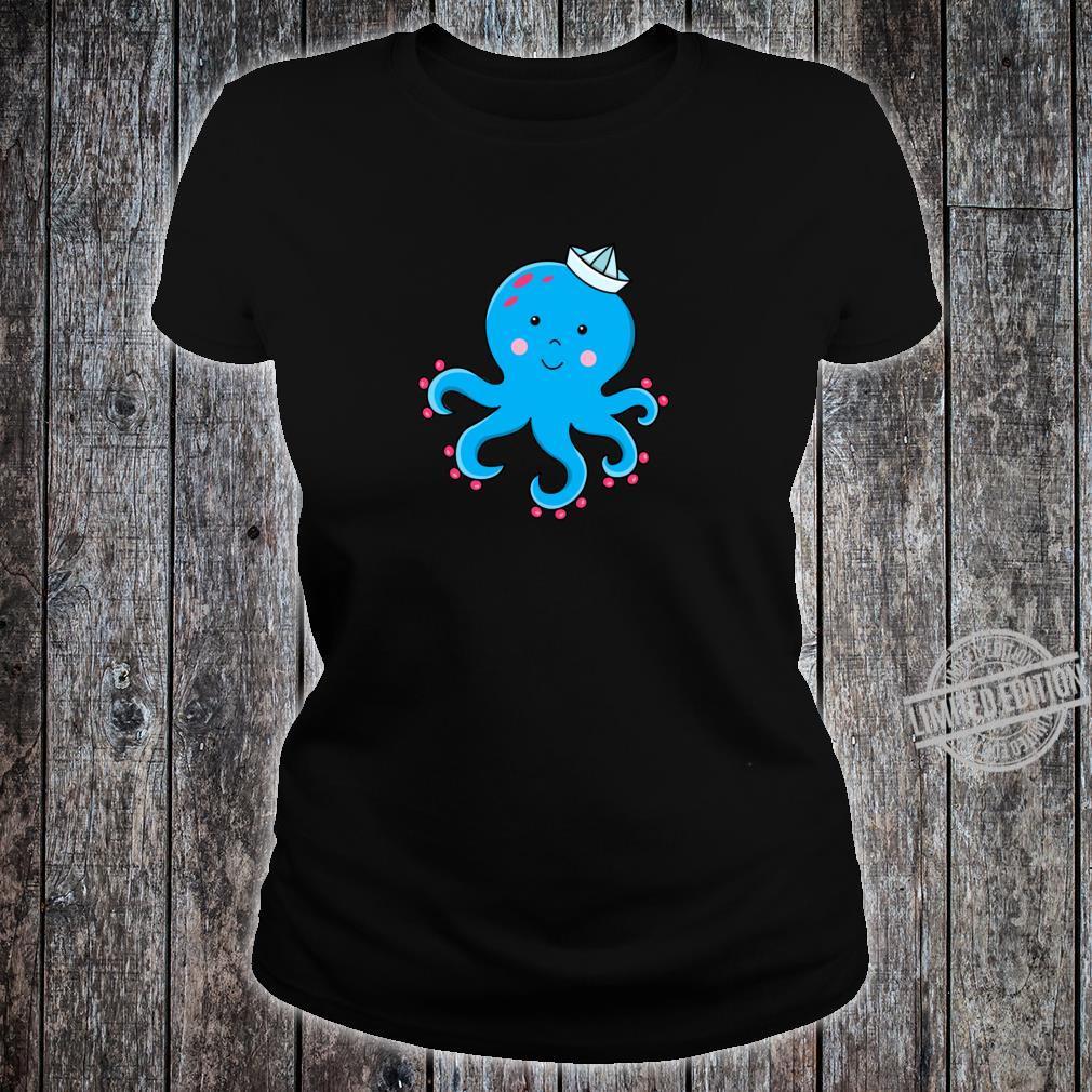 Fröhlicher Oktopus Shirt ladies tee