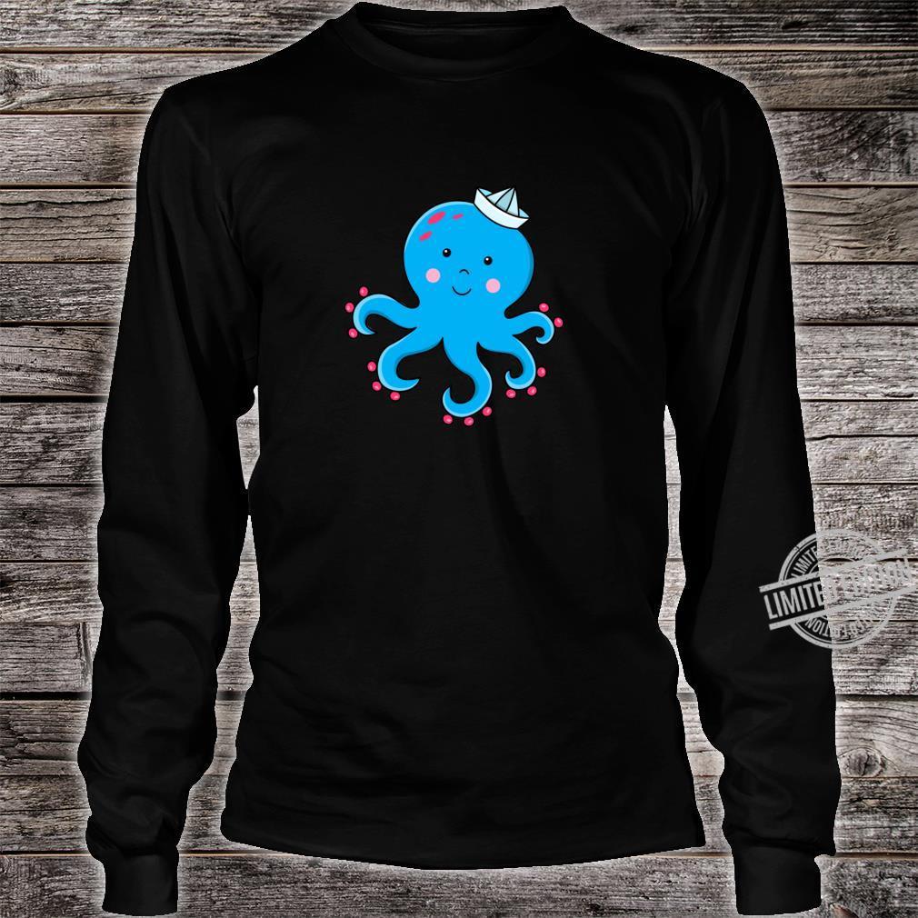 Fröhlicher Oktopus Shirt long sleeved