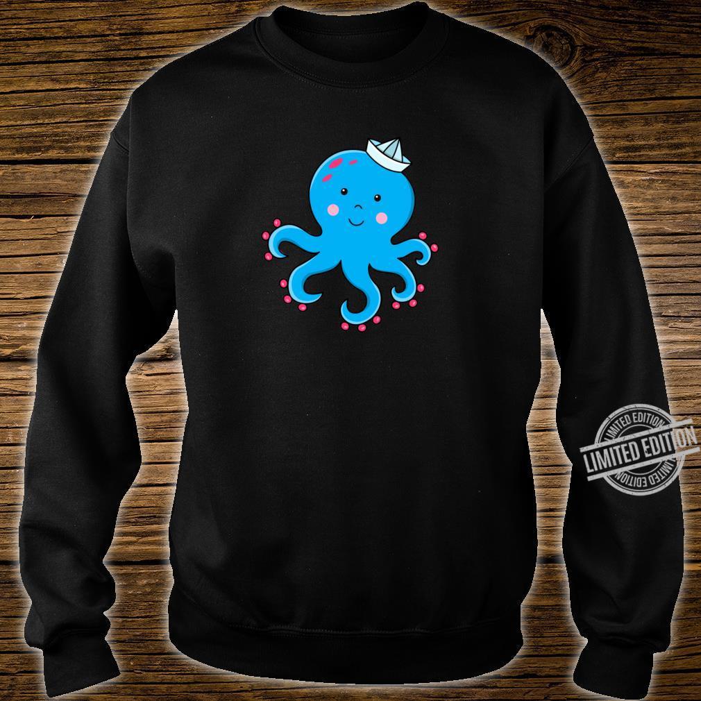 Fröhlicher Oktopus Shirt sweater