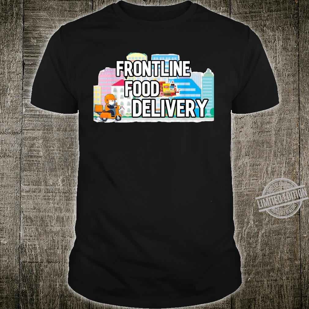 Frontline Food Delivery Courier Shirt