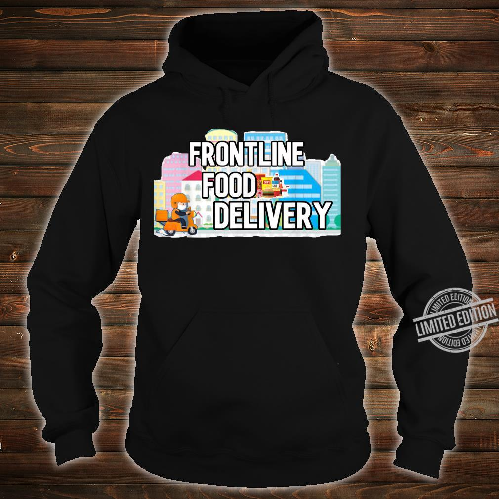 Frontline Food Delivery Courier Shirt hoodie