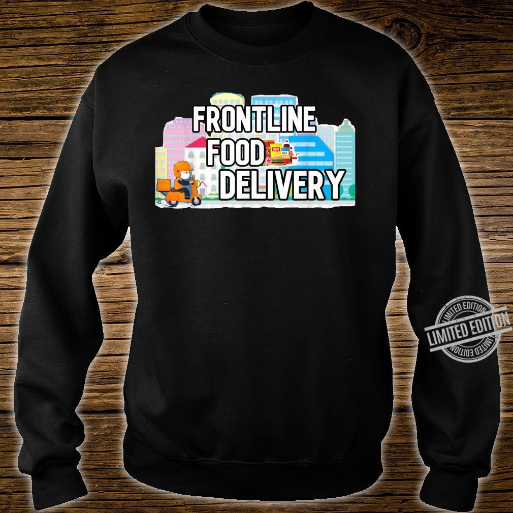 Frontline Food Delivery Courier Shirt sweater