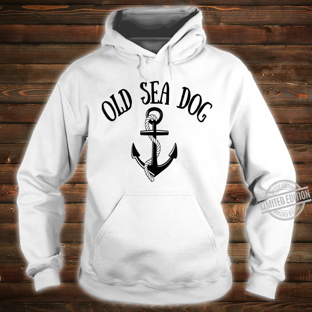 Funny Ancient Mariner Captain Cabin Crew First Mate Yachting Shirt hoodie