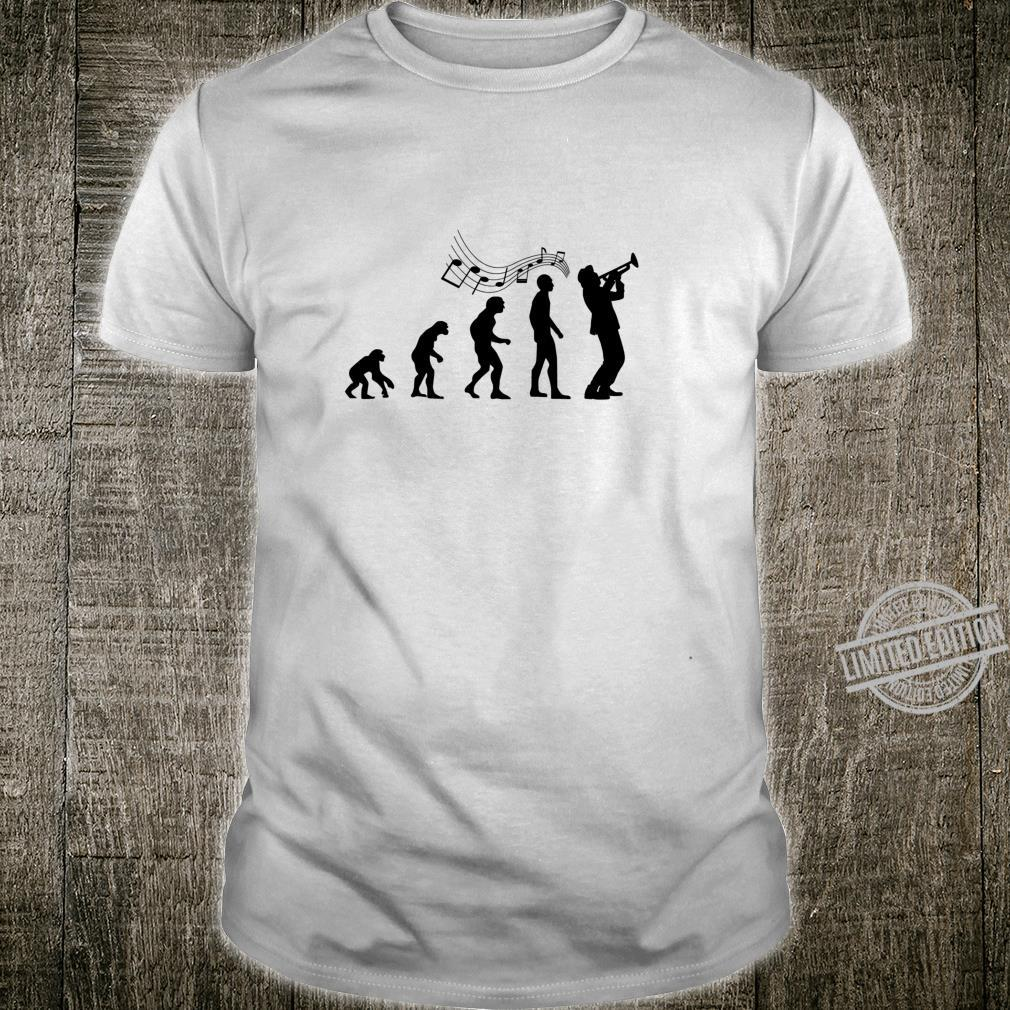 Funny Trumpet Player Evolution of Man or Shirt