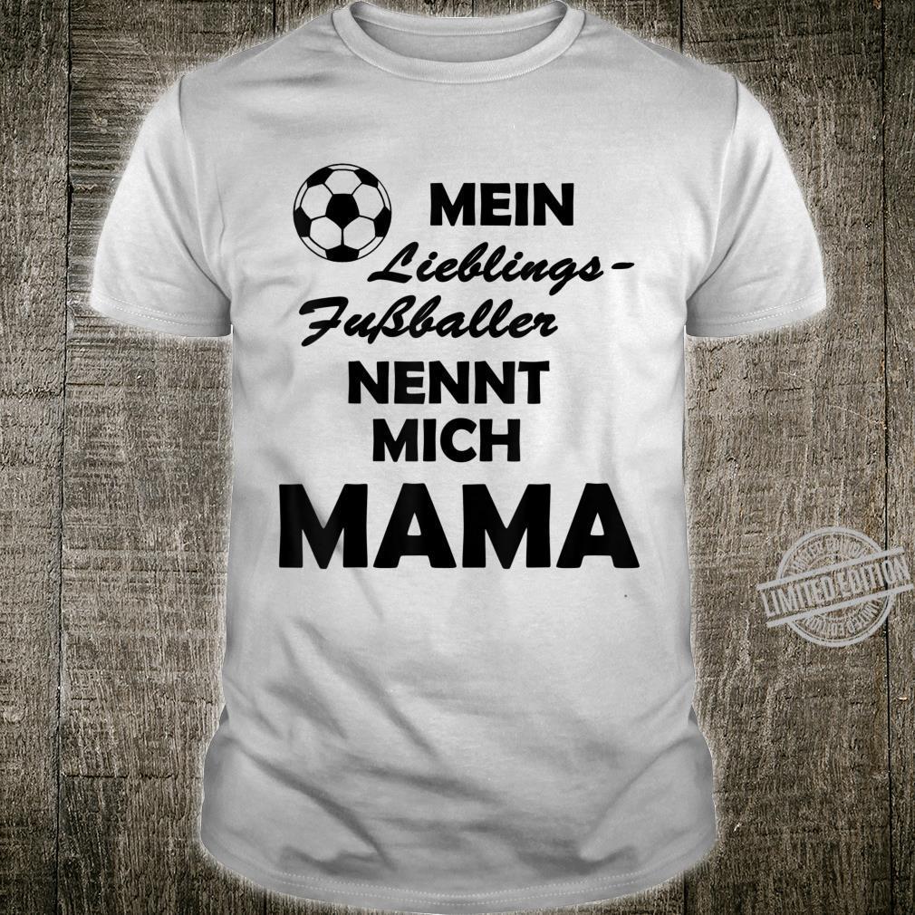 Fussball Mama Frauen Shirt