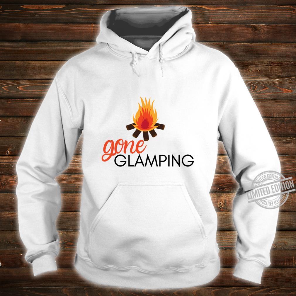 Gone Glamping Camping Sayings Cute Glamper for Camp Girl Shirt hoodie