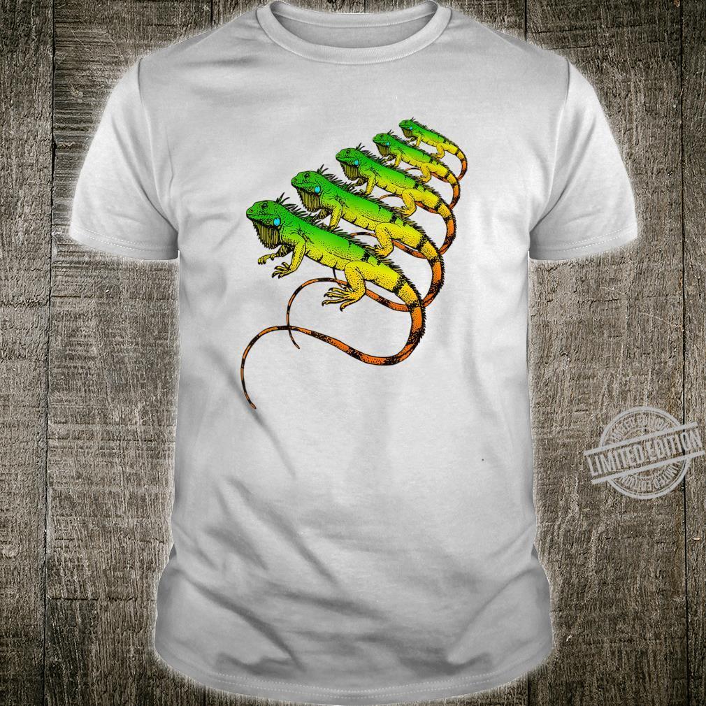 Green Iguana Lizard Reptiles Zoology & Herpetologist Shirt