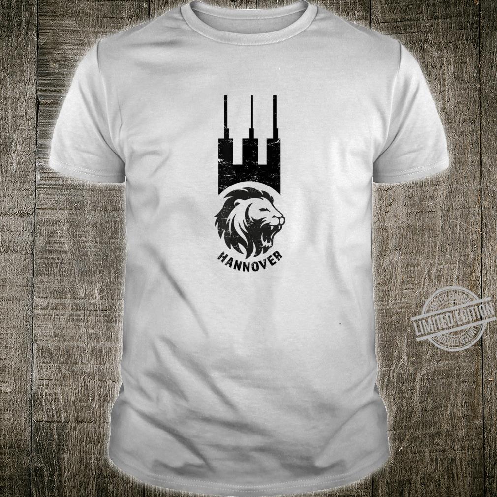 HANNOVER Heizkraftwerk Wappen Löwe Shirt
