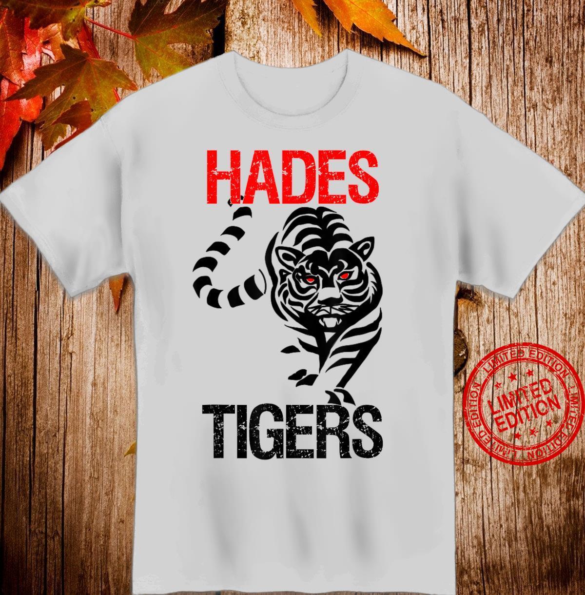 Hades Tigers Baseball Design and Shirt