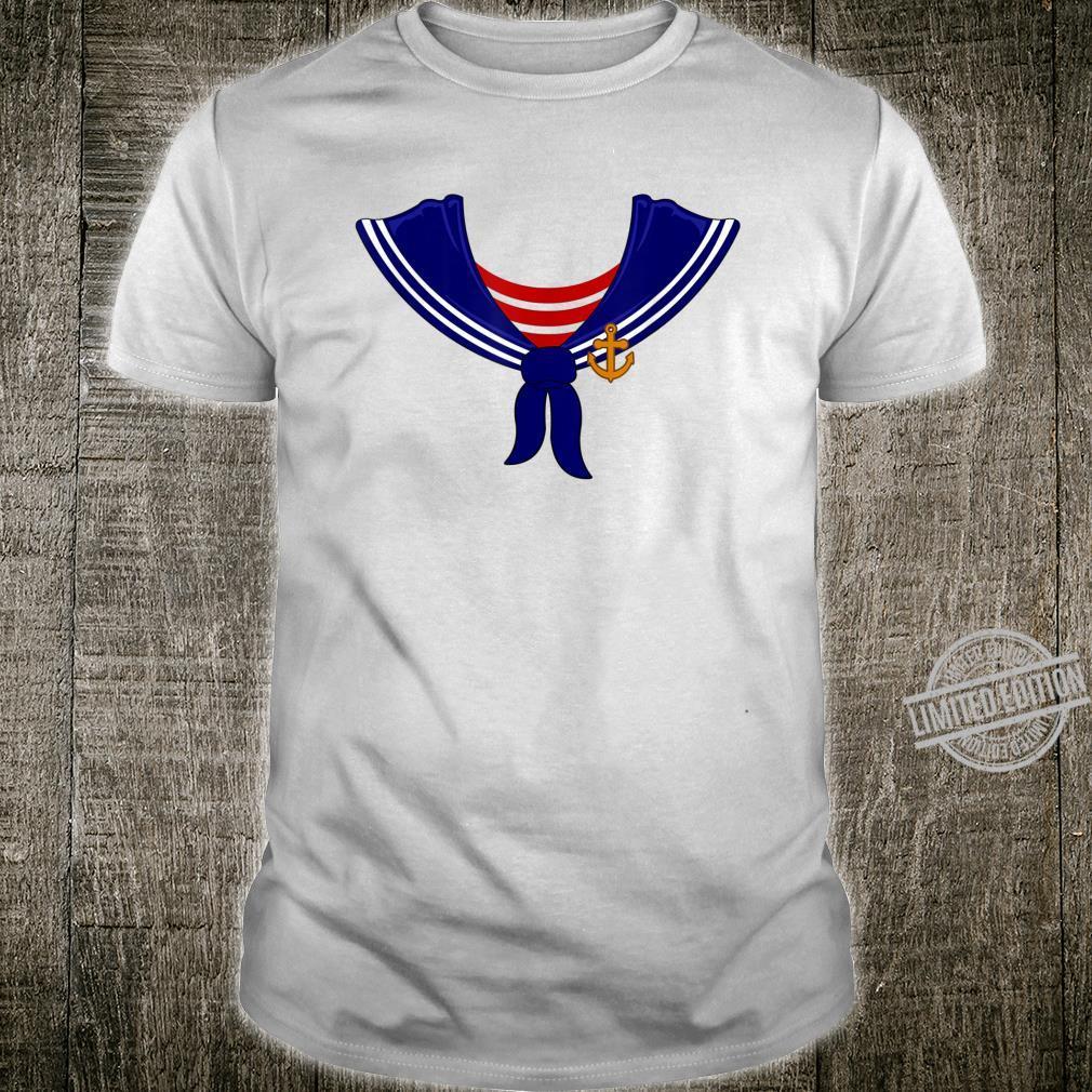 Halloween Sailor Captain Simple Sailing Crew Shirt