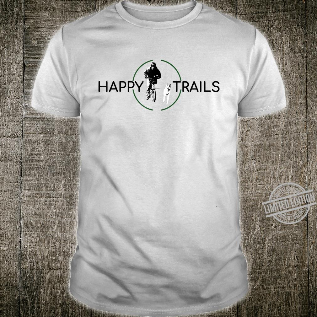 Happy Trails Dog Scootering, Sledding, Urban Mushing, Sled Shirt