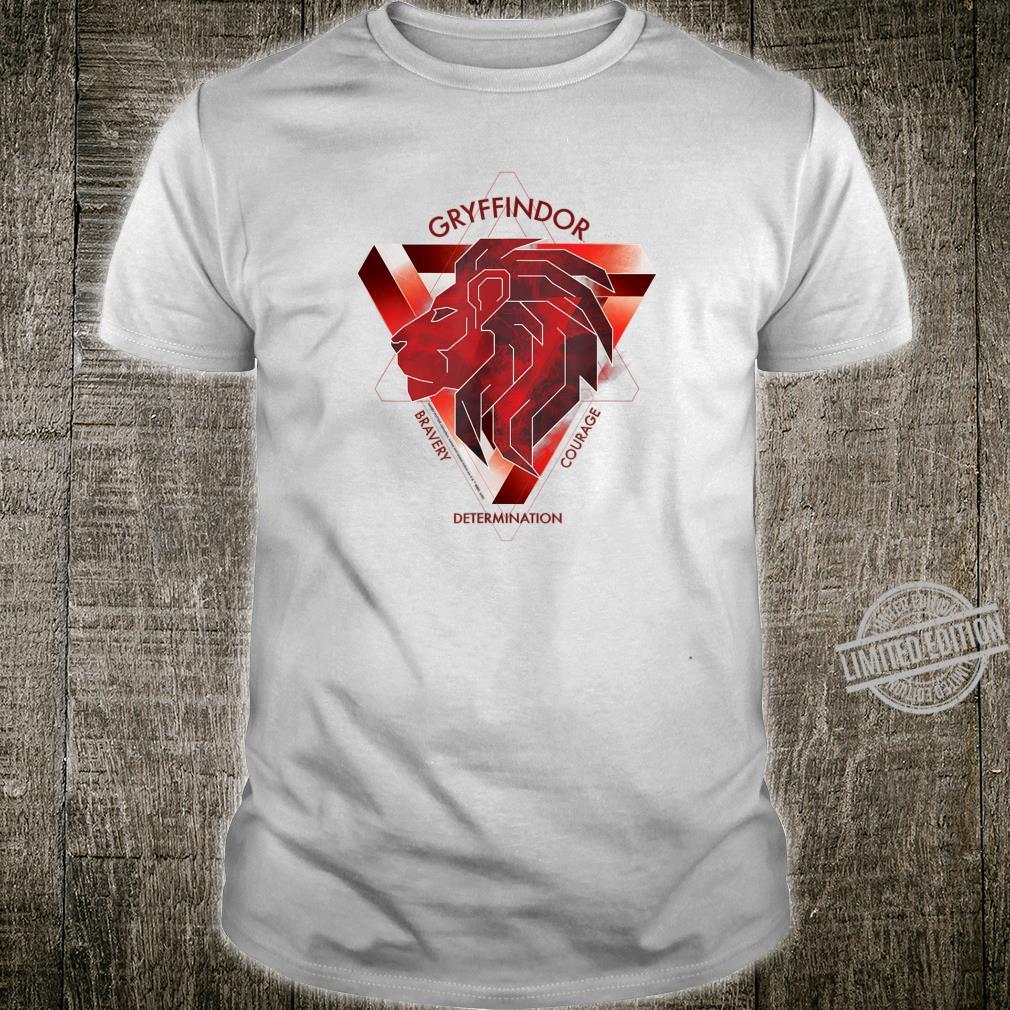 Harry Potter Gryffindor Bravery Courage Determination Shirt