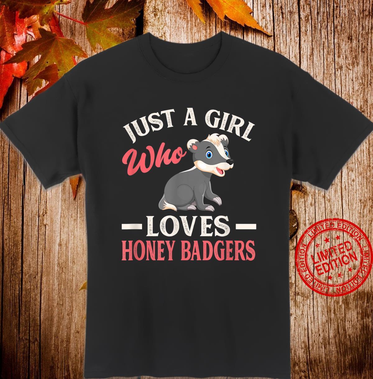 Honey Badger Ratel Zoo Keeper Honey Badger Shirt