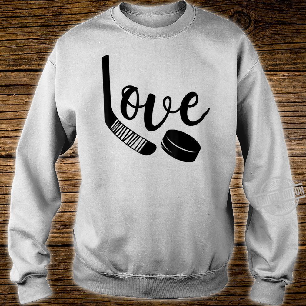 Ice Hockey Valentines Day Love Cute Boys Girls Goalie Shirt sweater