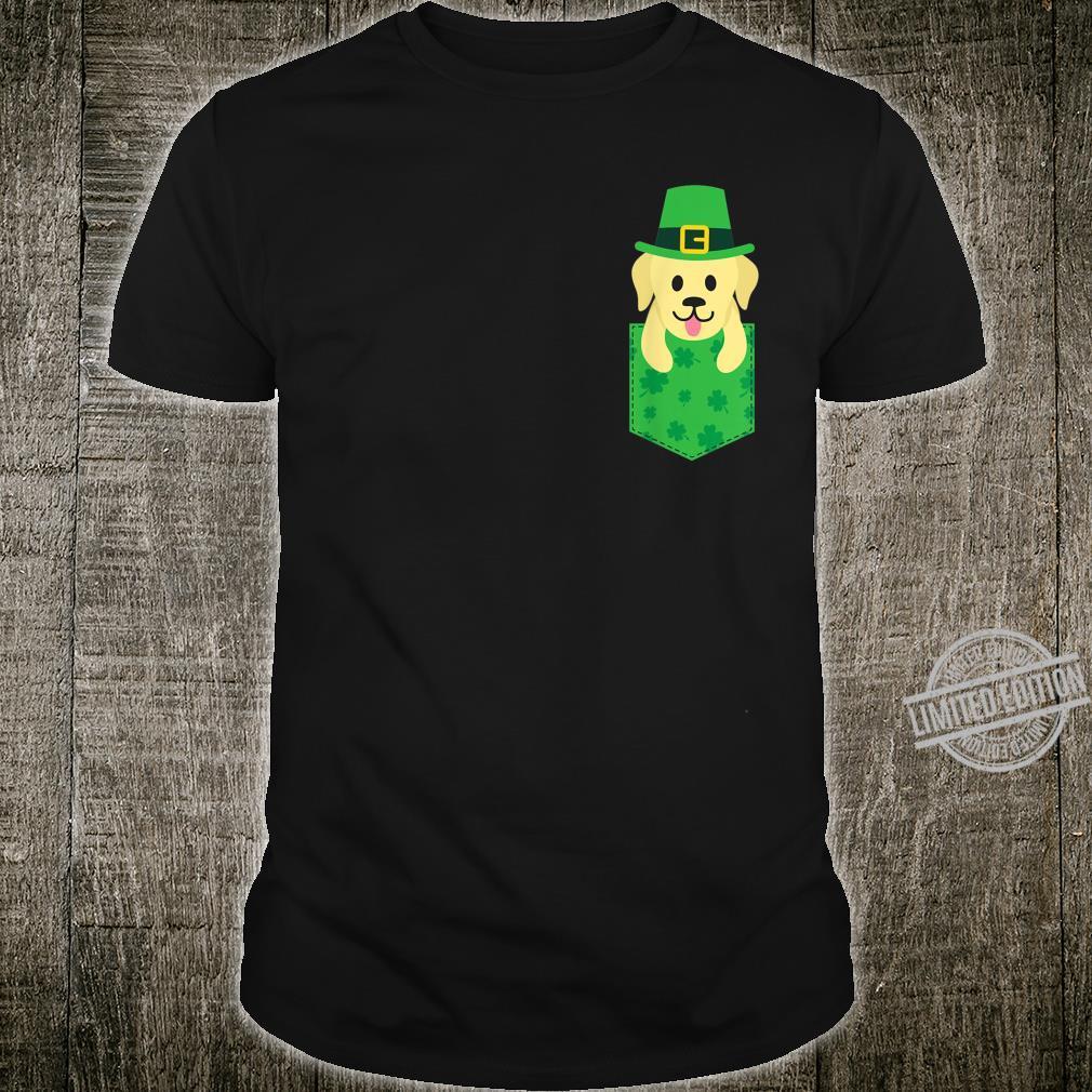 Irish Labrador Dog Pocket St Patricks Day 2020 Shirt