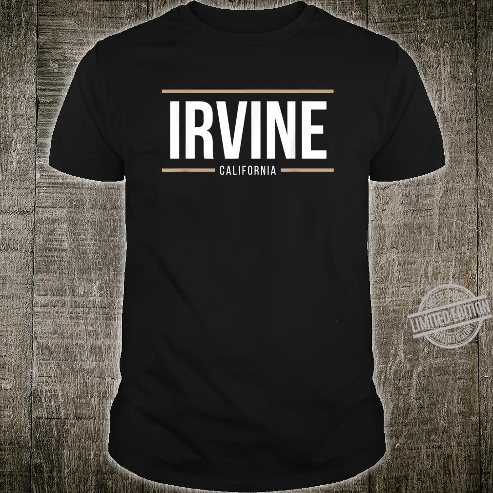 Irvine California Orange County Golden State Shirt