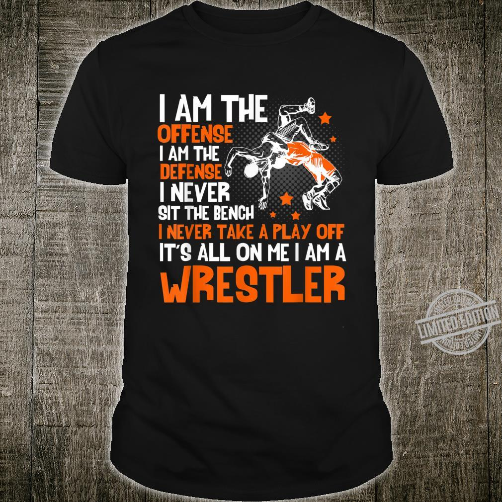 It Must Be Earned Wrestling Shirt Awesome for Wrestler Shirt