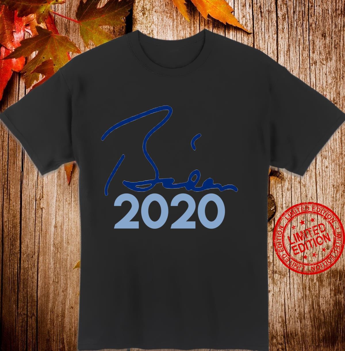 JOE Shirt Biden for President Vote 2020 Langarmshirt Shirt