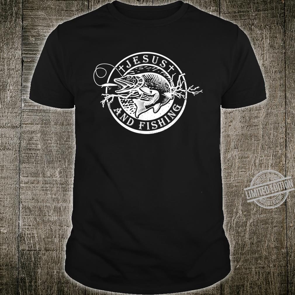 Jesus and Fishing Cute Christian Fisherman Shirt