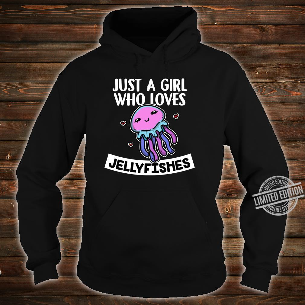 Just A Girl Who Loves Jellyfishes Cute Jellyfish Costume Shirt hoodie