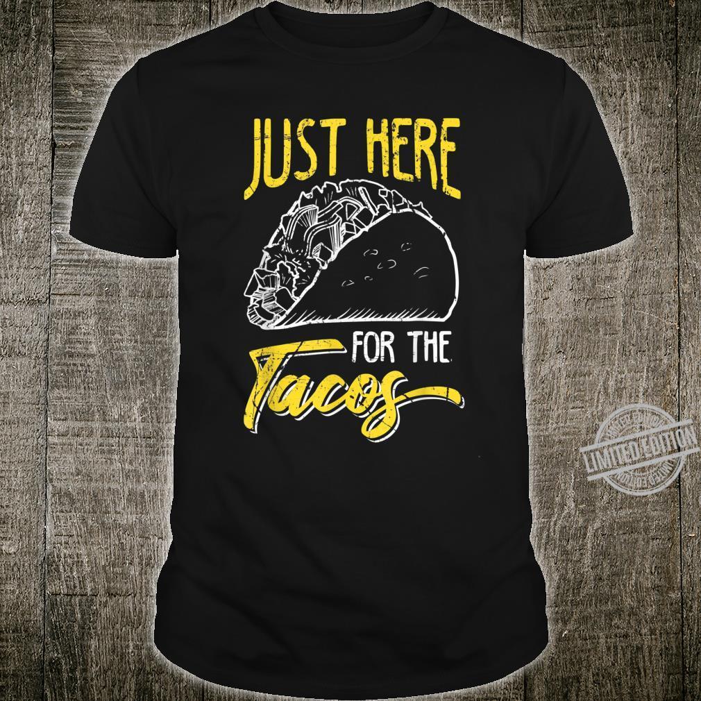Just Here for the Tacos Cinco De Mayo Retro Shirt
