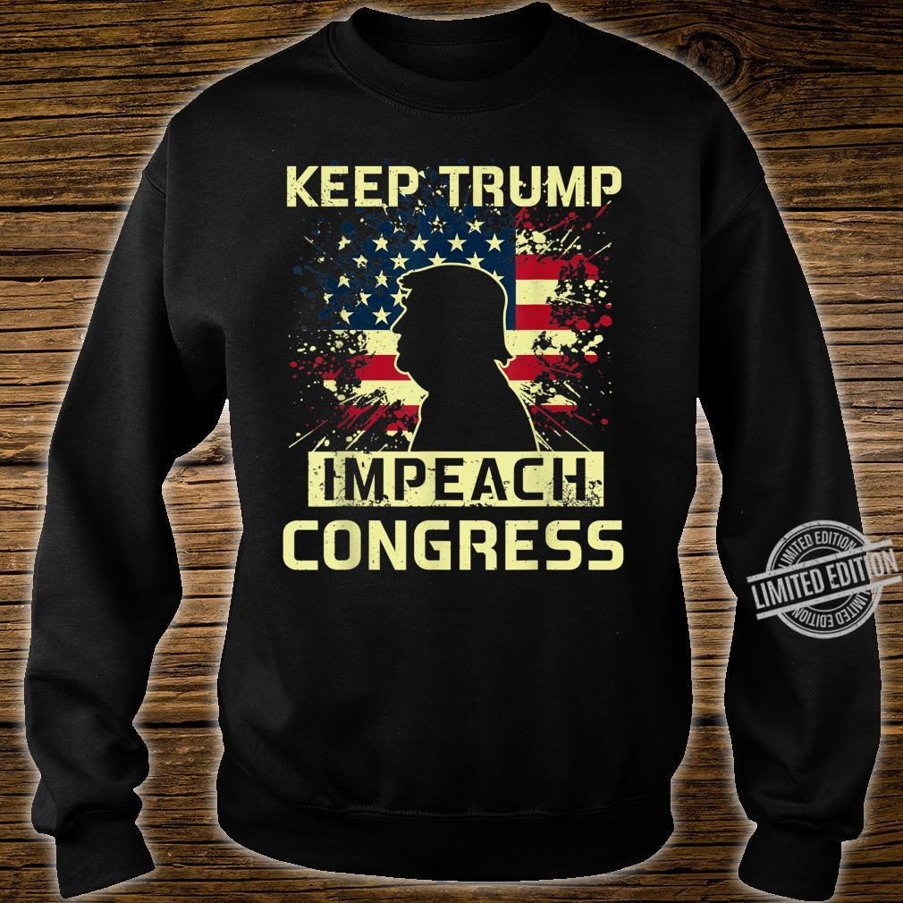 Keep Trump Impeach Congress Election 2020 Political Shirt sweater
