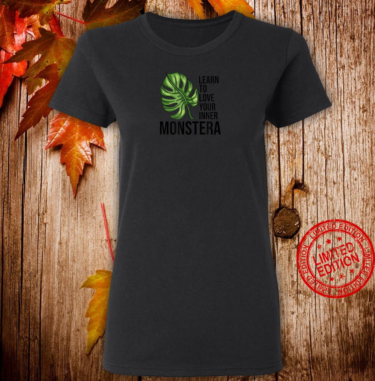 Learn to love your inner Monstera Plants Monstera Shirt ladies tee