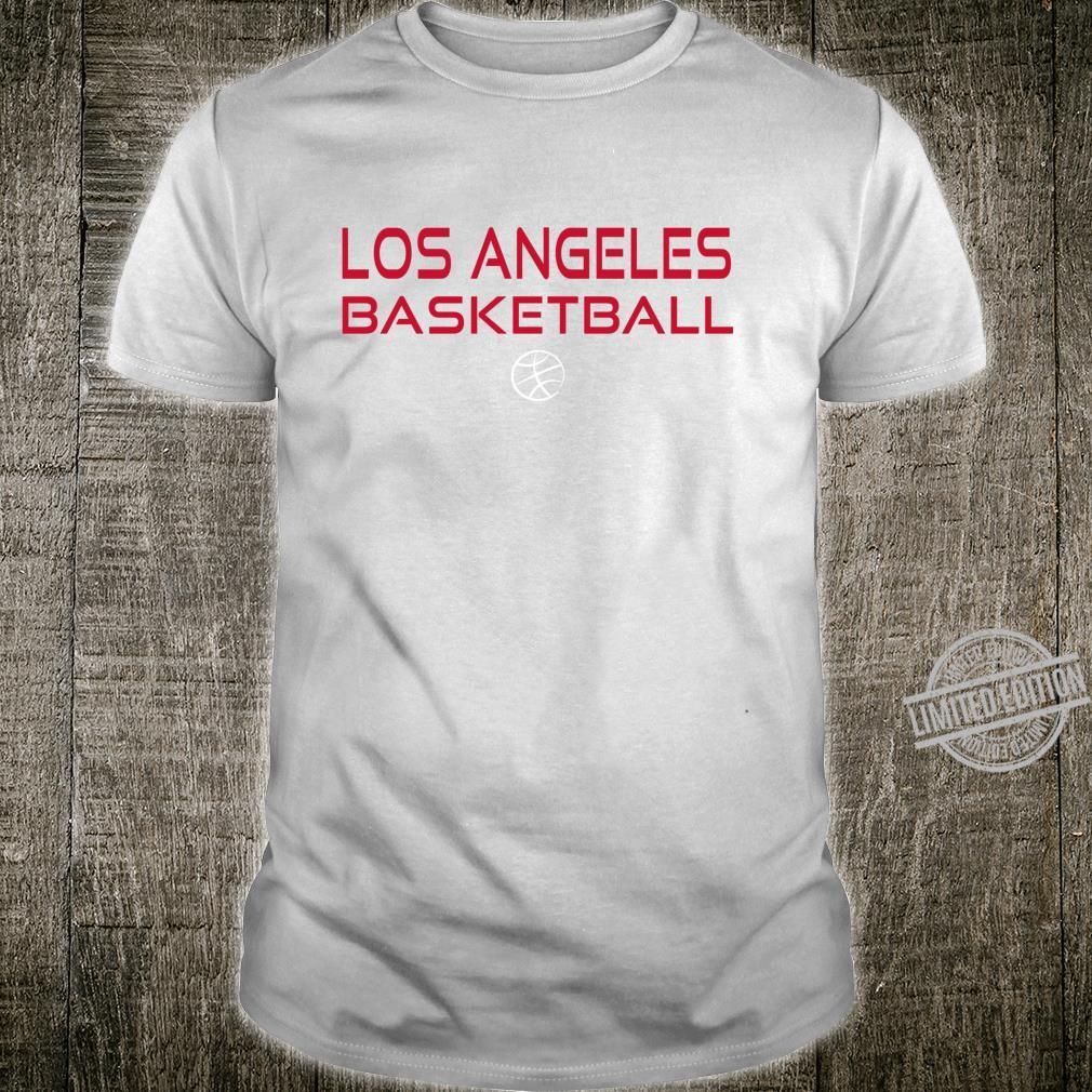 Los Angeles Basketball Courtside Gameday Fan Gear Shirt