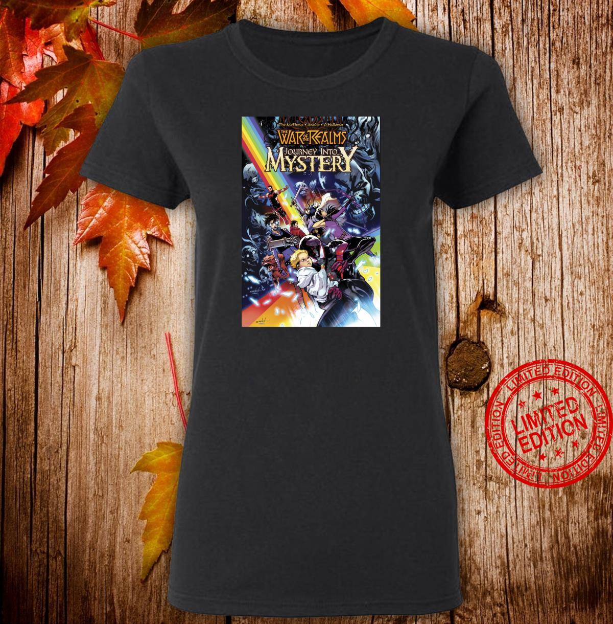 Marvel War Of The Realms Journey Into Mystery Cover Shirt ladies tee