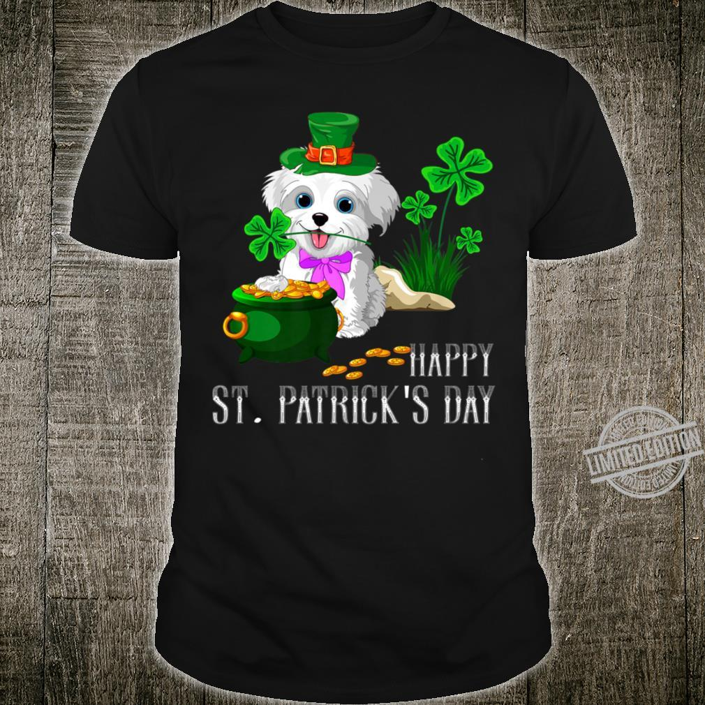 My Bichon Frise Is My Lucky Charm Shirt
