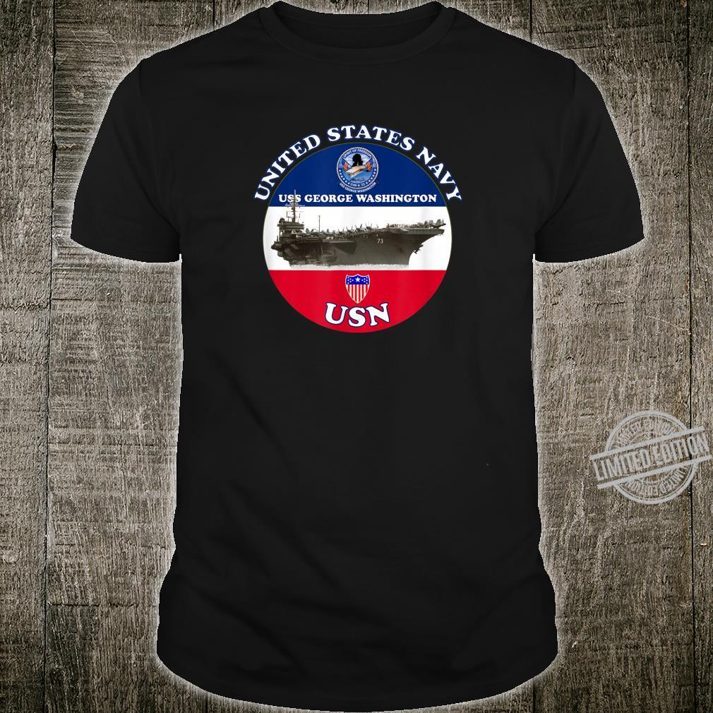 NAVY AIRCRAFT CARRIER USS GEORGE WASHINGTON CVN73 Shirt