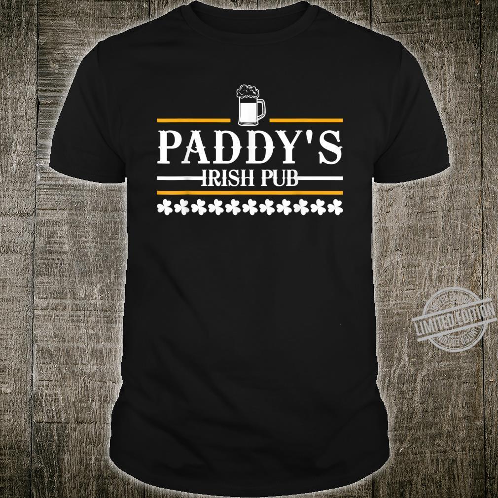 Paddys Pub Irische St. Patricks trinken Shirt