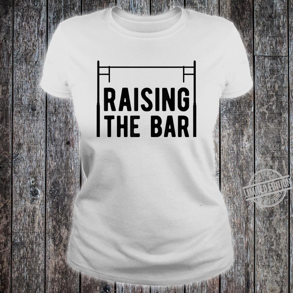 Pole Vault Raising The Bar Vaulter Shirt ladies tee