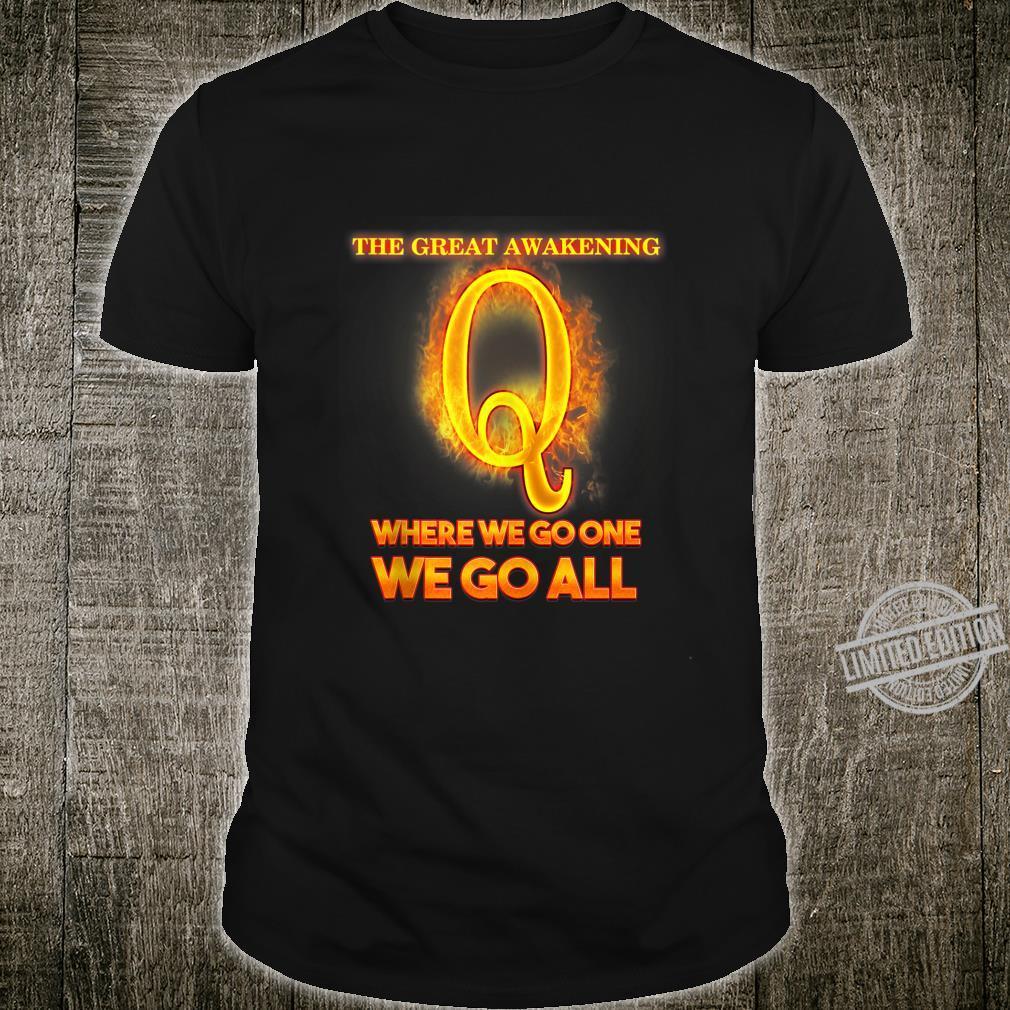 Qanon Illuminati Where We Go One We Go All I Idea Shirt