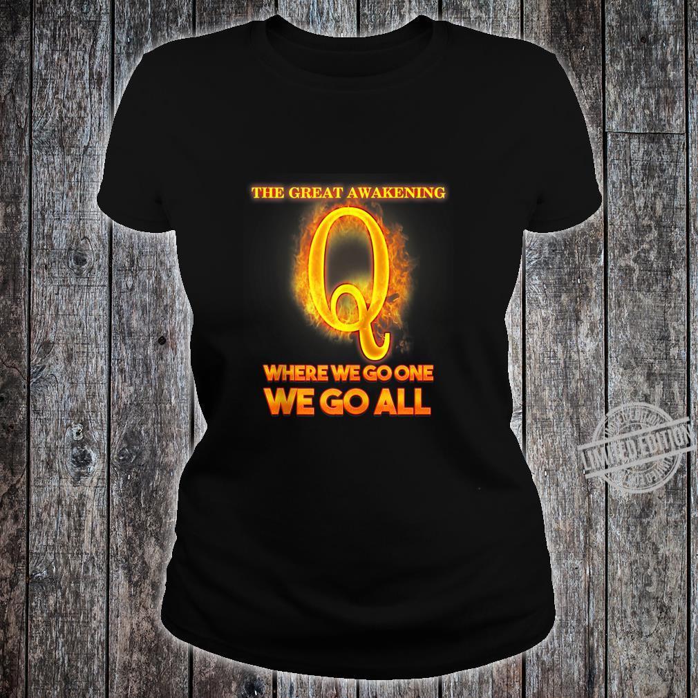 Qanon Illuminati Where We Go One We Go All I Idea Shirt ladies tee