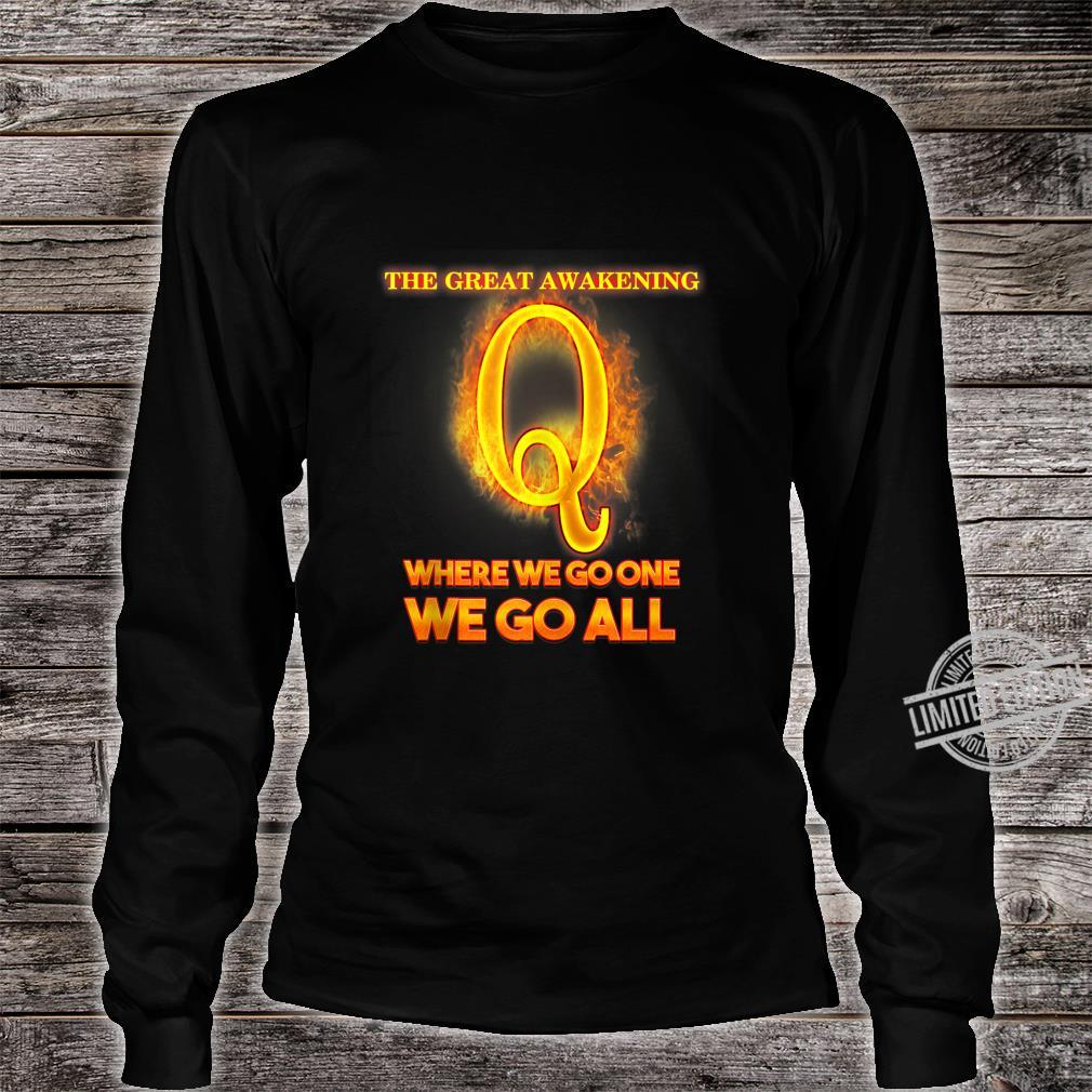 Qanon Illuminati Where We Go One We Go All I Idea Shirt long sleeved