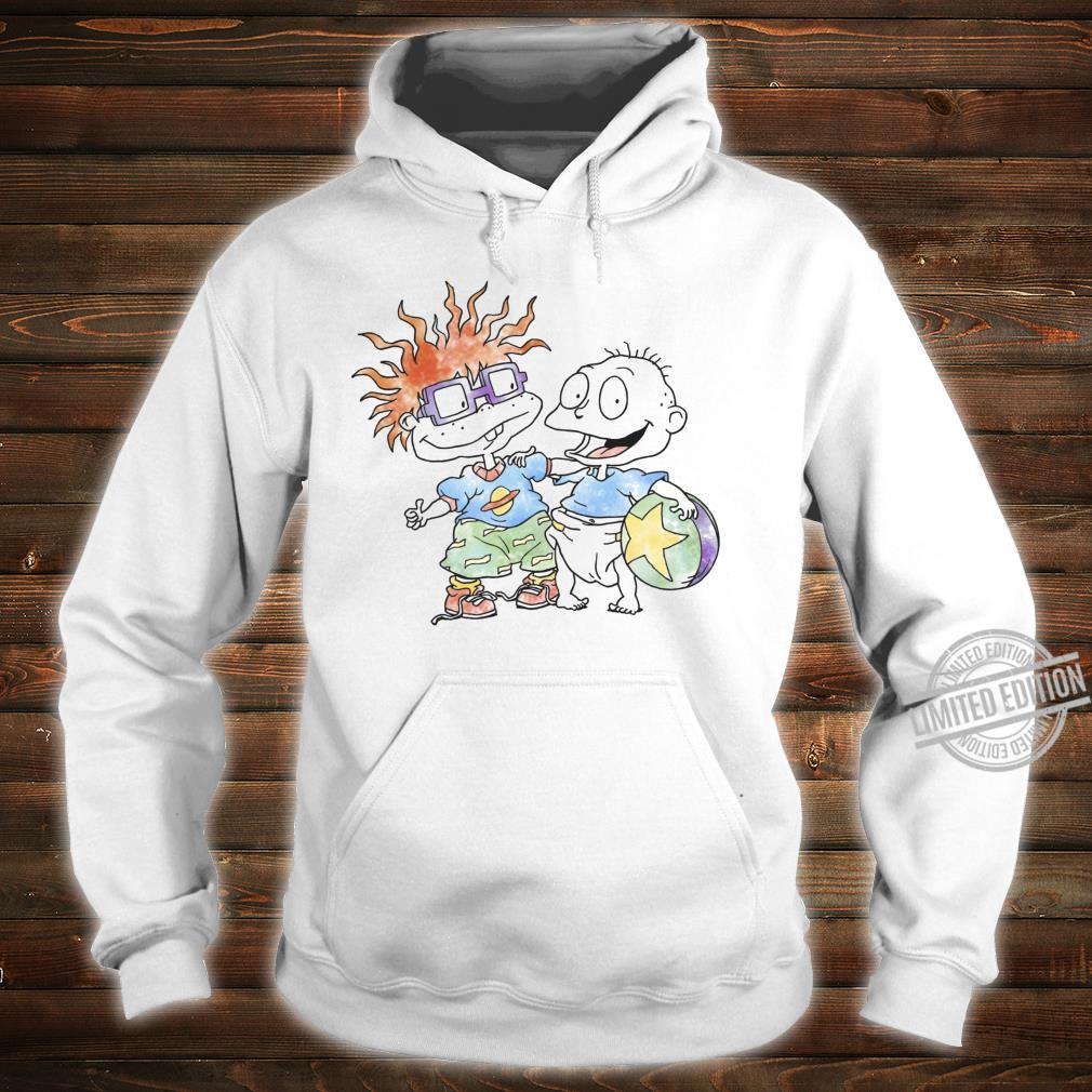 Rugrats Tommy And Chuckie Best Friends Watercolor Shirt hoodie