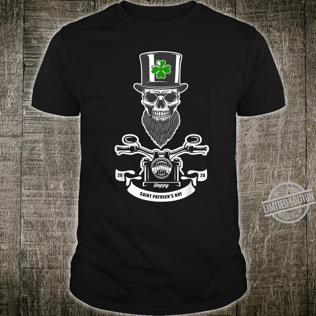 St Patricks Day Leprechaun Motorcycls Shirt