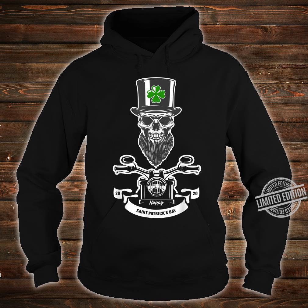 St Patricks Day Leprechaun Motorcycls Shirt hoodie