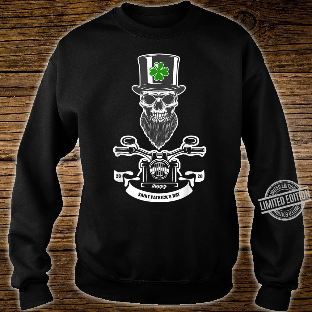 St Patricks Day Leprechaun Motorcycls Shirt sweater