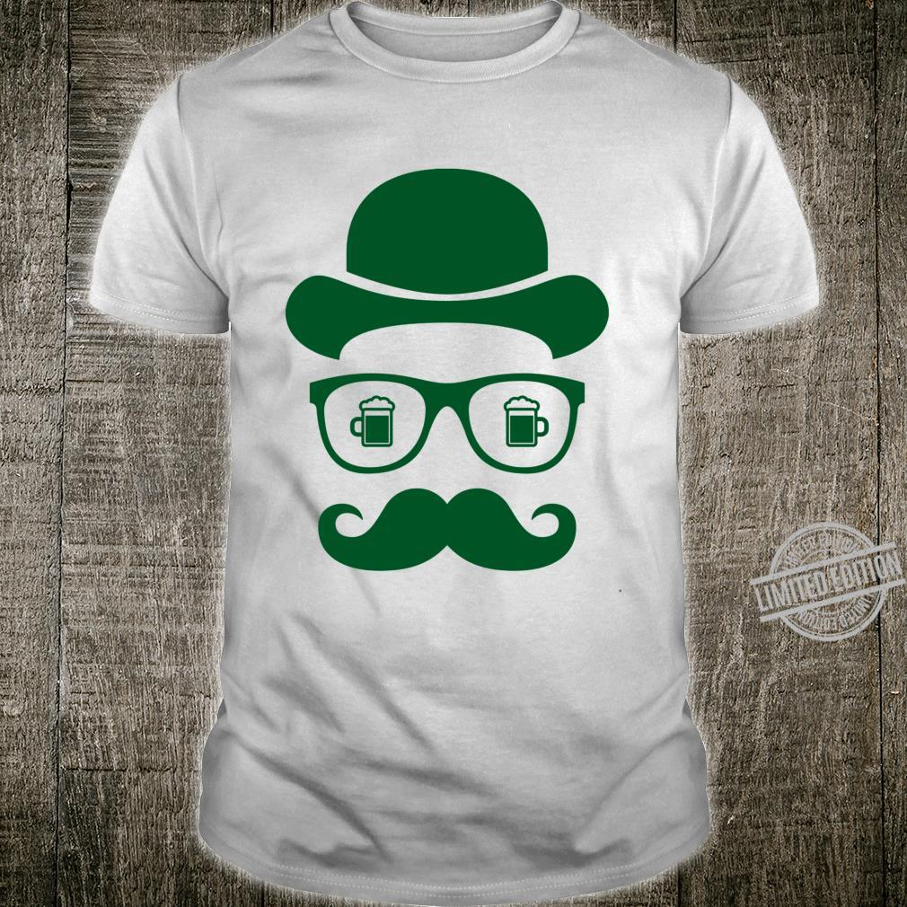 St Patrick's Day Shadow Face Man Costume Shirt
