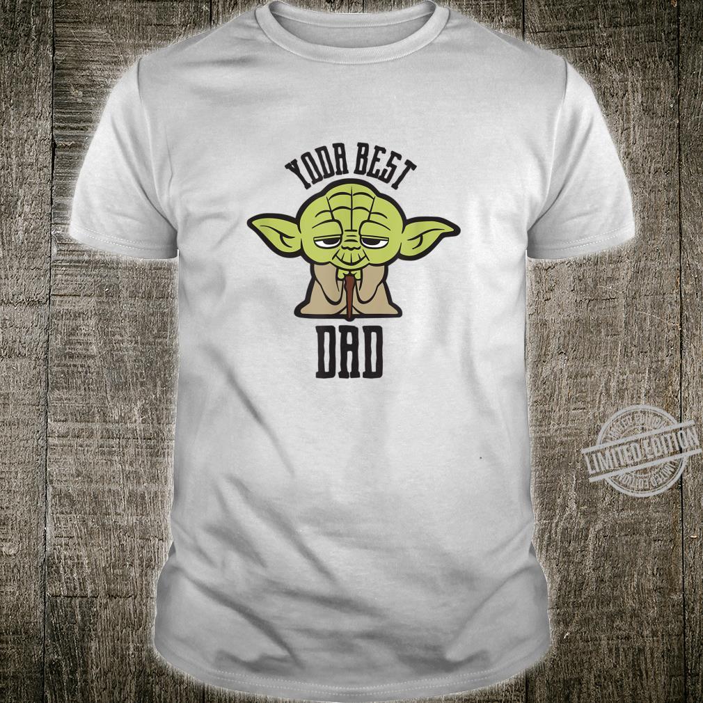 Star Wars Kawaii Yoda Best Dad Father's Day Shirt