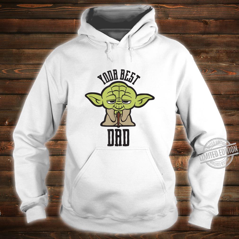 Star Wars Kawaii Yoda Best Dad Father's Day Shirt hoodie